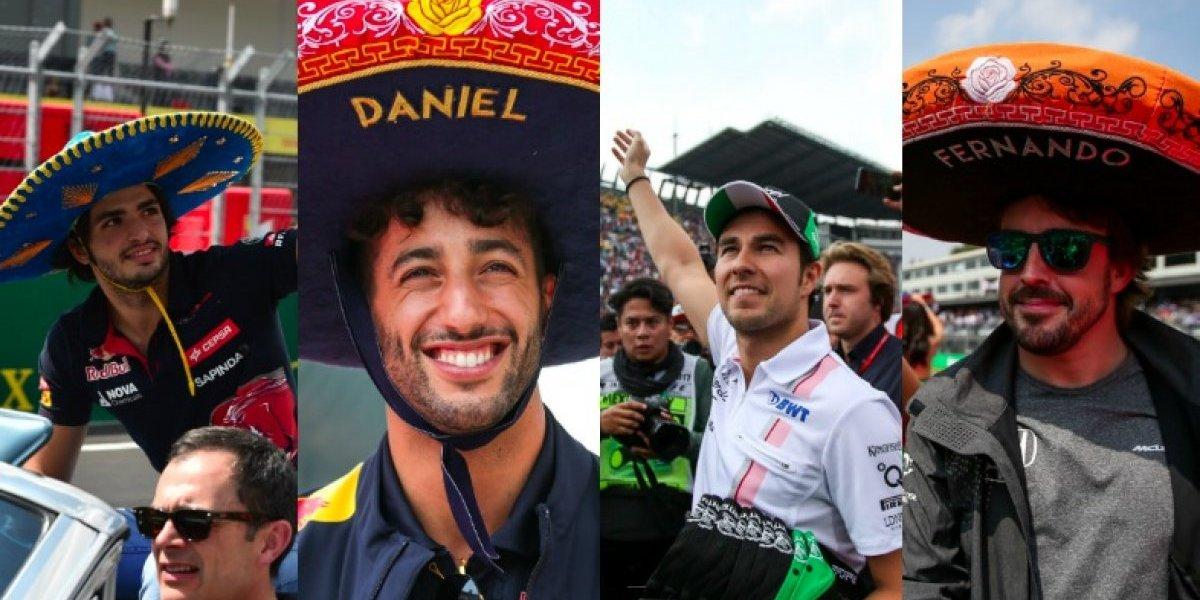 Pilotos de la F1 revelan que el Gran Premio de México es de sus favoritos