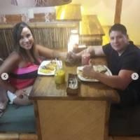 Exjueza Lorena Collantes y su novio