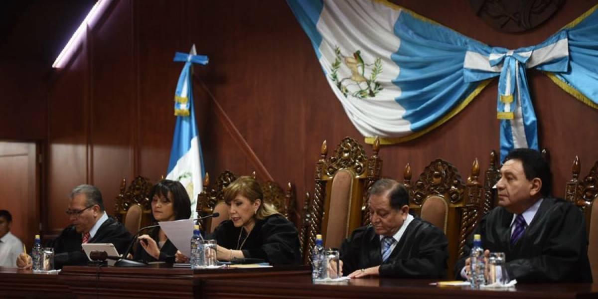 PGN denuncia a tres magistrados de la Corte de Constitucionalidad