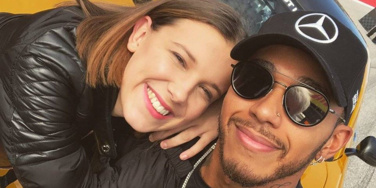 Lewis Hamilton hace 'sufrir' a Millie Bobby Brown