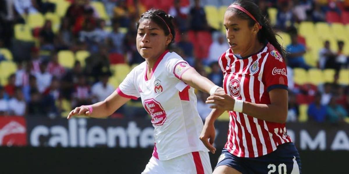 Chivas femenil empata con Morelia y deja escapar el liderato