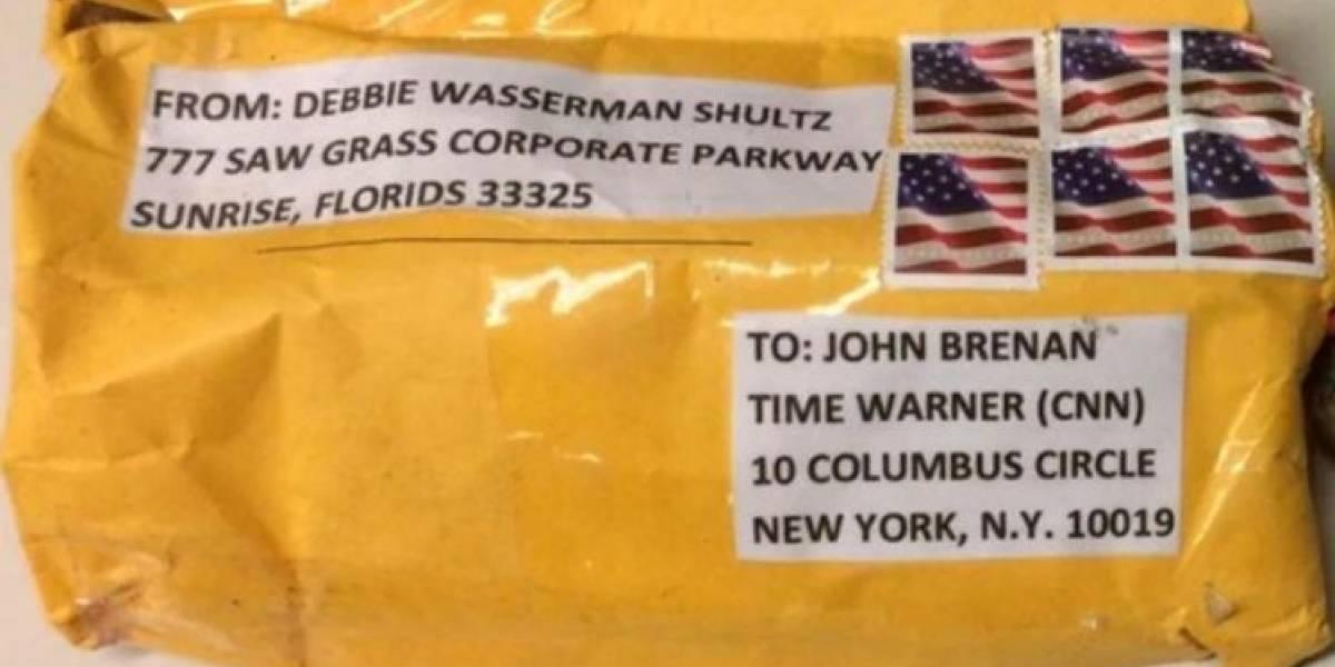 Ola de correos bomba: así era uno de los explosivos enviados a la cadena CNN