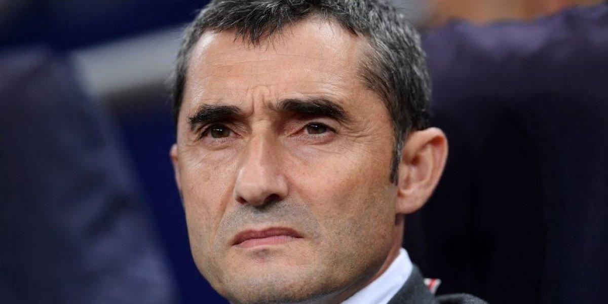 """Valverde defendió el pifiado ingreso de Vidal: """"Nos da algo diferente, nos ayuda mucho"""""""