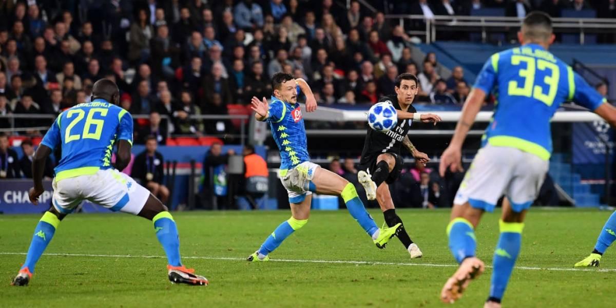 PSG evita el bochorno y sigue vivo en la Champions con empate agónico ante Napoli