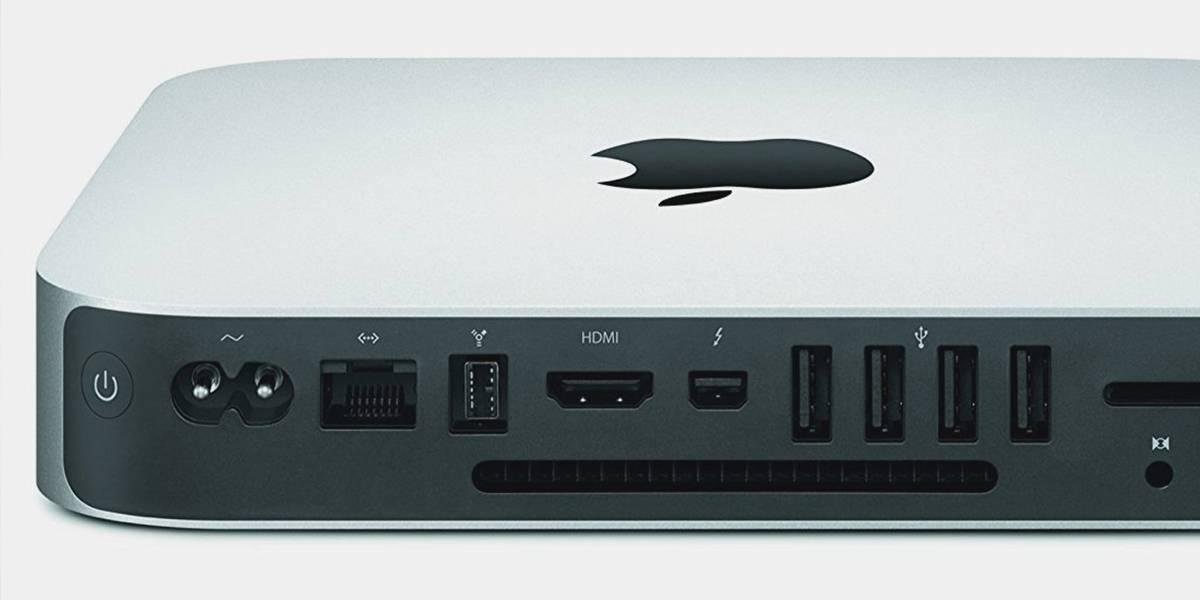  Filtran imagen de nueva Mac Mini de Apple