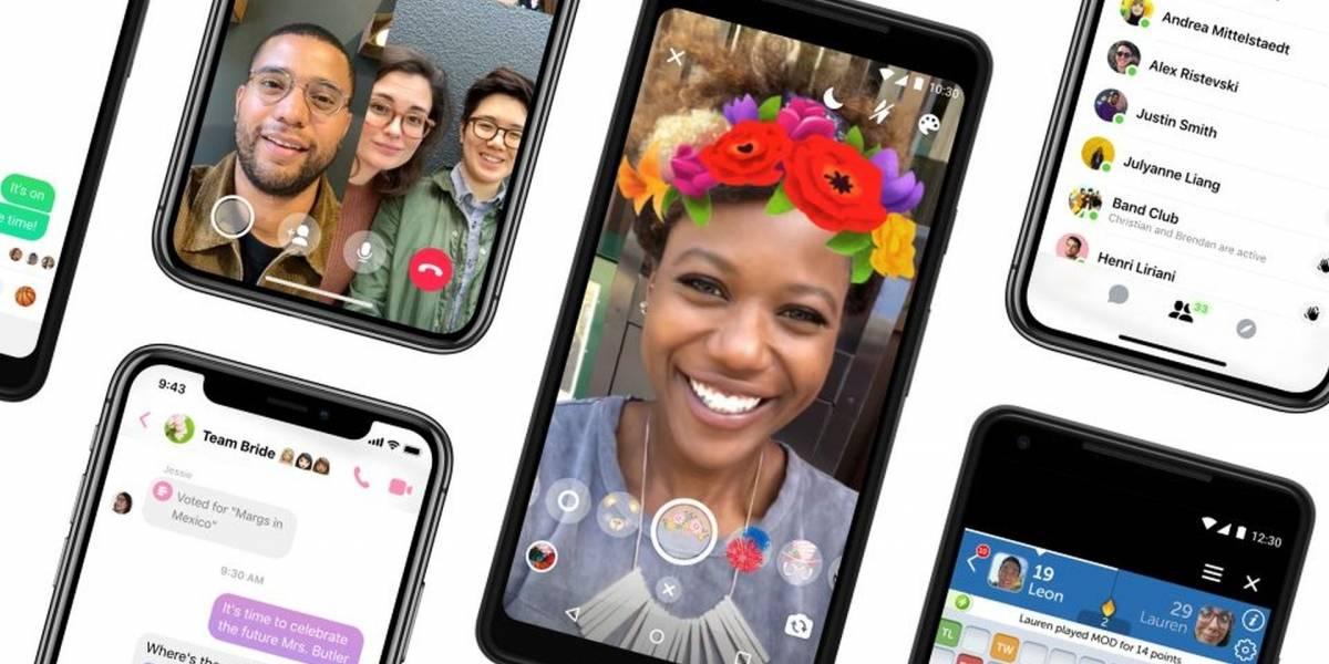 Facebook presenta Messenger 4, la nueva versión simplificada de su app de mensajería