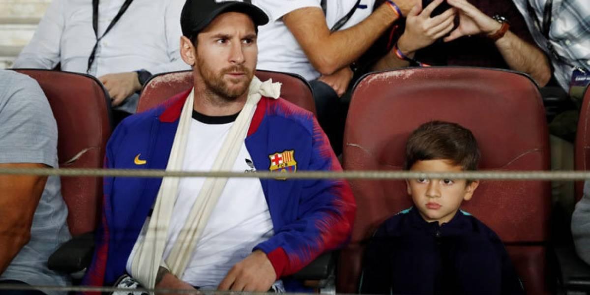 El Barcelona sale airoso ante el Inter en ausencia de Lionel Messi