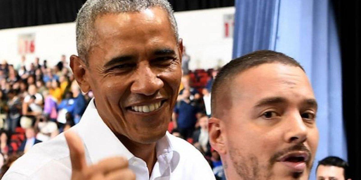 Barack Obama muestra que es fanático de J Balvin