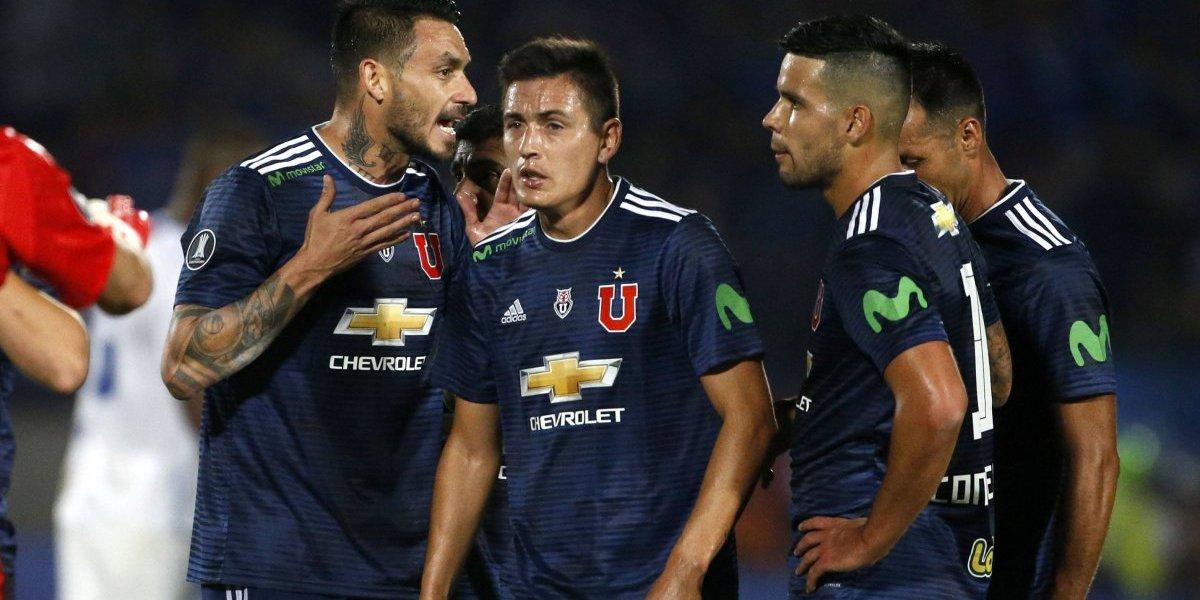 Colo Colo y UC incluidos: El pésimo registro de la U contra los top 35 de América en los últimos tres años