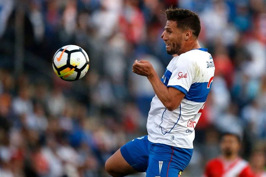 Germán Lanaro volverá al once titular de la UC en el clásico ante la U / Foto: Photosport