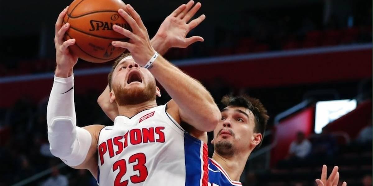 Blake Griffin saca la cara por los Pistons y derrotan a los Sixers