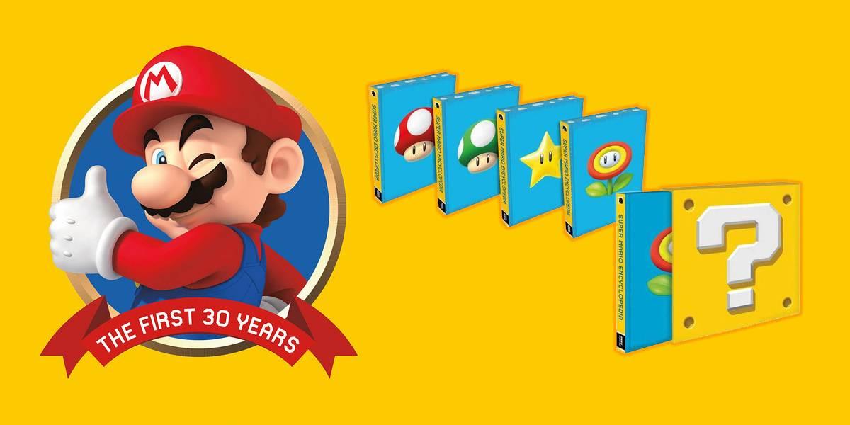 La Super Mario Bros. Encyclopedia llega por fin a América