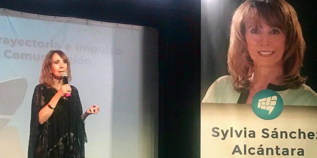 Reconocimiento a una gran Publicista Sylvia Sánchez Alcántara
