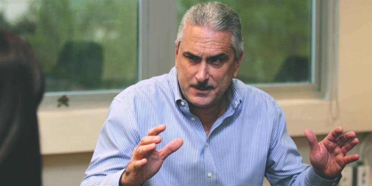 Rivera Schatz se altera ante periodista que reveló escándalo senatorial