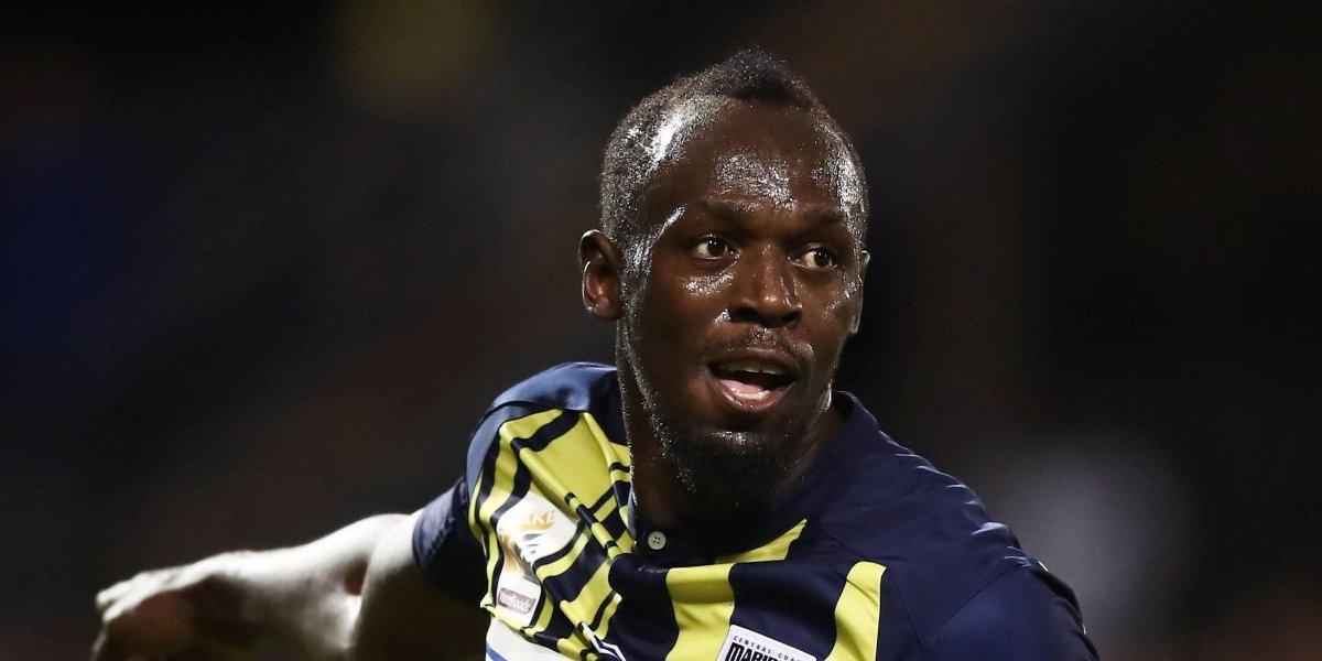 El futuro de Usain Bolt como futbolista profesional podría peligrar
