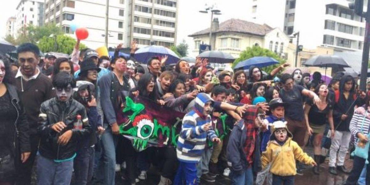 Quito: El Zombie Walk se iniciará en la pista skate de la Carolina