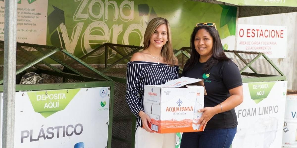 El Catador y Acqua Panna realizan operación de reciclaje con Green Love RD
