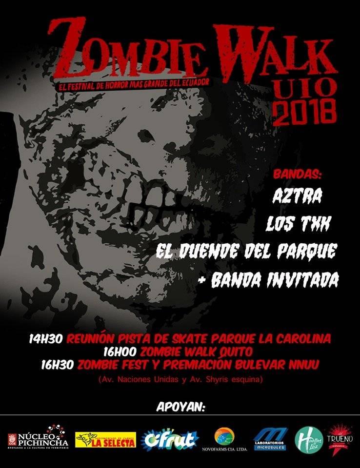 El Zombie Walk 2018