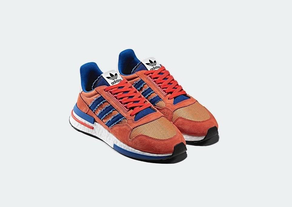 """distribuidor mayorista calidad perfecta zapatos genuinos Los tenis en homenaje a Goku de """"Dragon Ball Z"""" ya están en ..."""