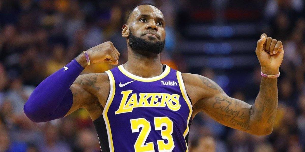 NBA: LeBron se baja del Mundial de China y sus vacaciones las dedicará al rodaje de Space Jam 2