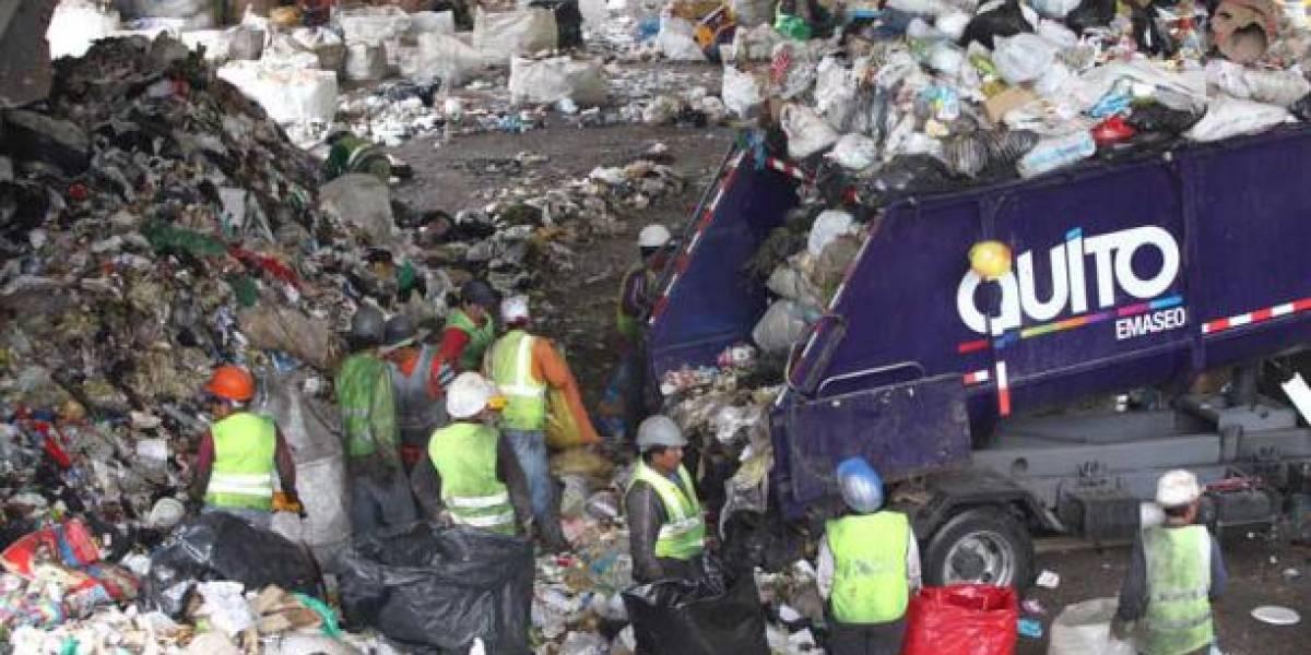 Un cadáver fue hallado en la basura en el sector de Zámbiza