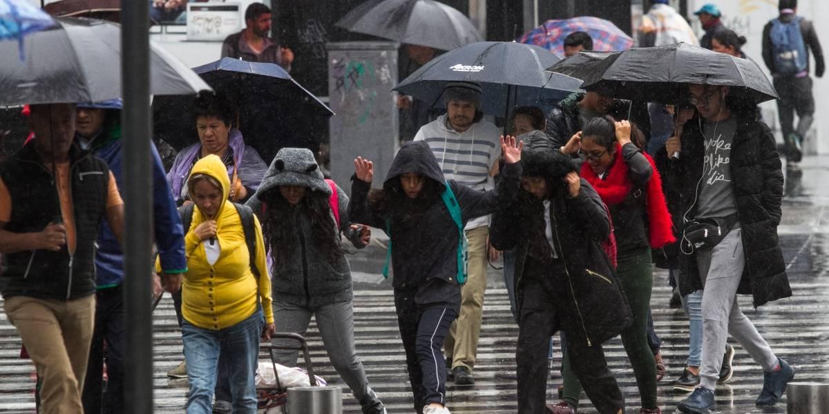 Frente frío 7 causará lluvias en norte, noreste y oriente del país