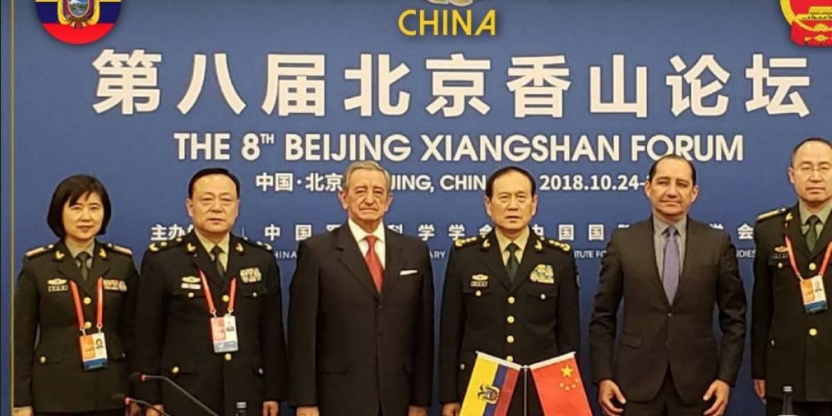China donó a Ecuador cuatro lanchas guardacostas en foro de defensa