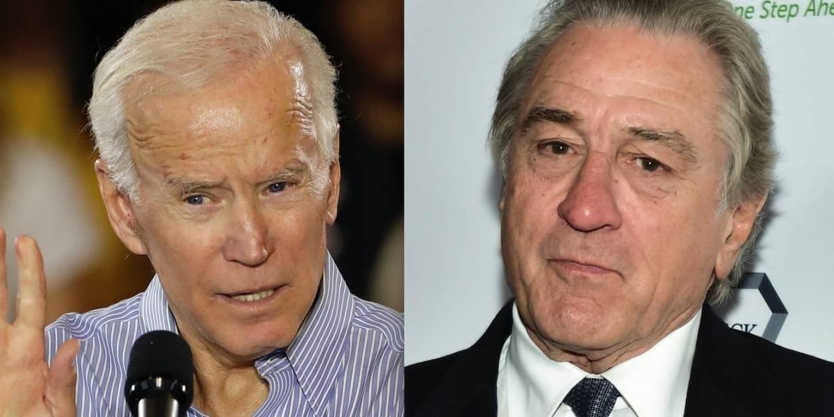 Robert De Niro y el ex vicepresidente de EE.UU. Joe Biden son los nuevos blancos de los correos bomba
