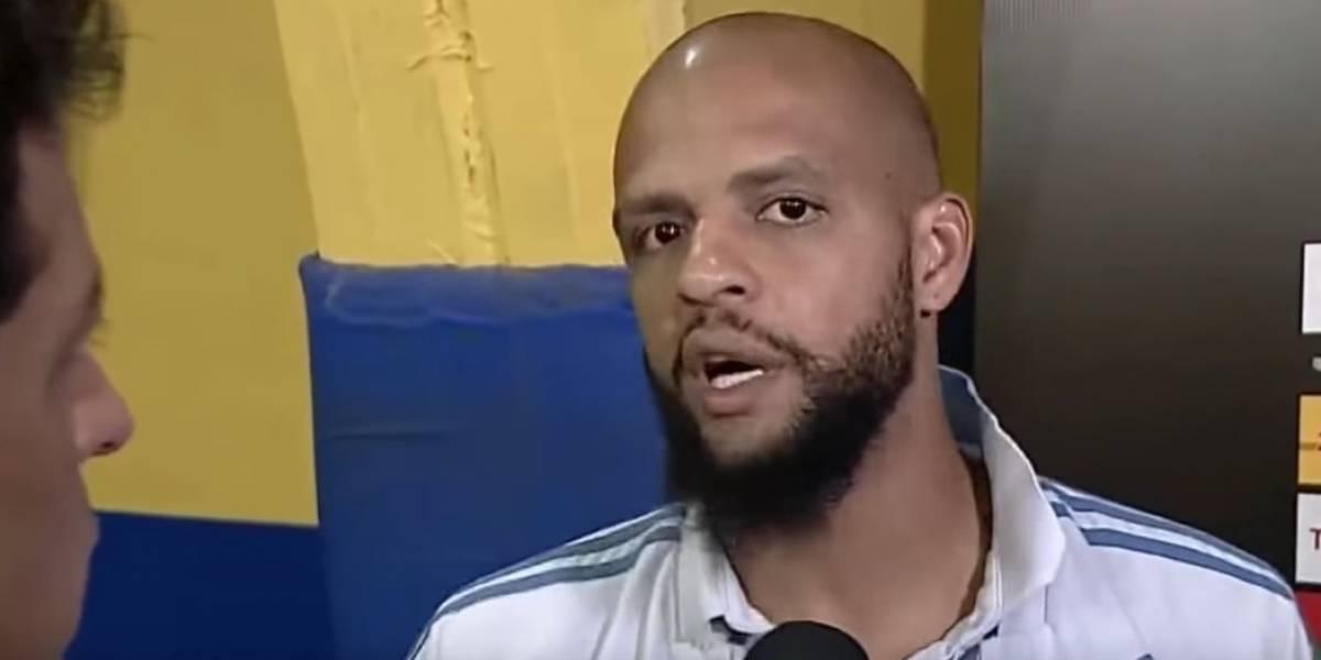 La furia de Felipe Melo contra canal de TV que lo culpó de la derrota de Palmeiras ante Boca