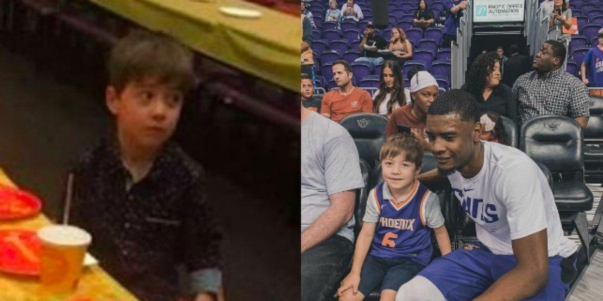 VIDEO: Los Suns de Phoenix hicieron que Teddy olvidará su peor cumpleaños