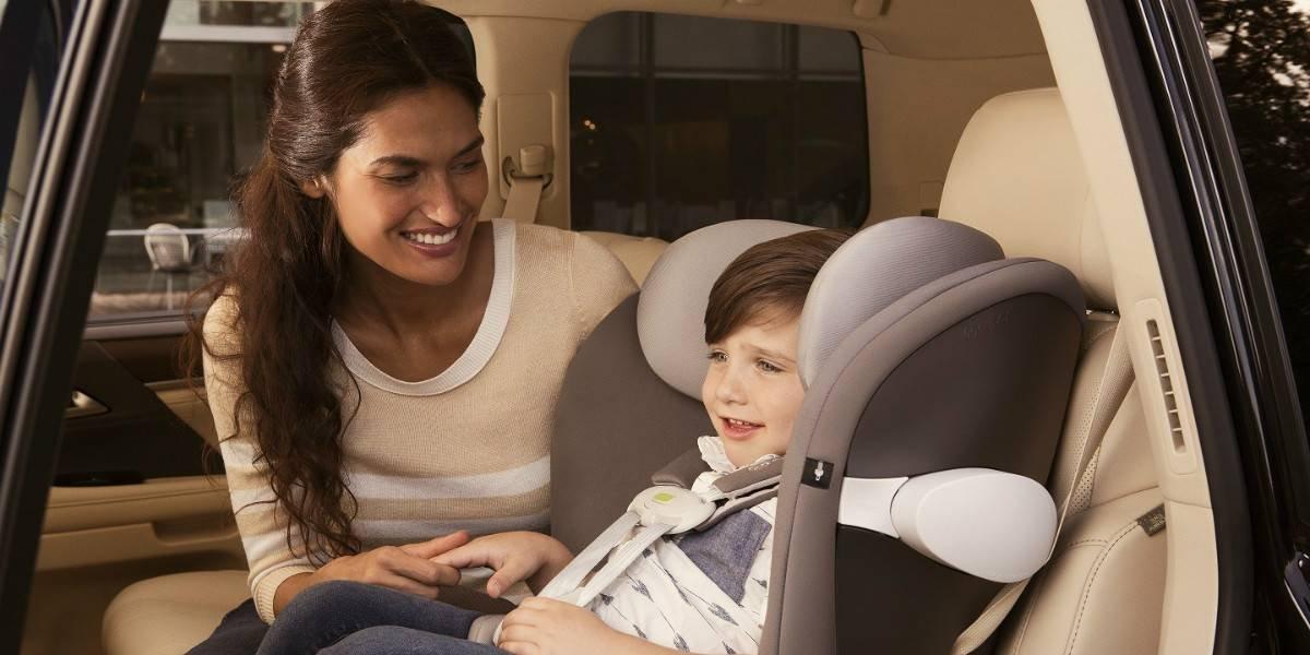 Pronto en Chile las sillas que avisan si olvidas al niño en el auto