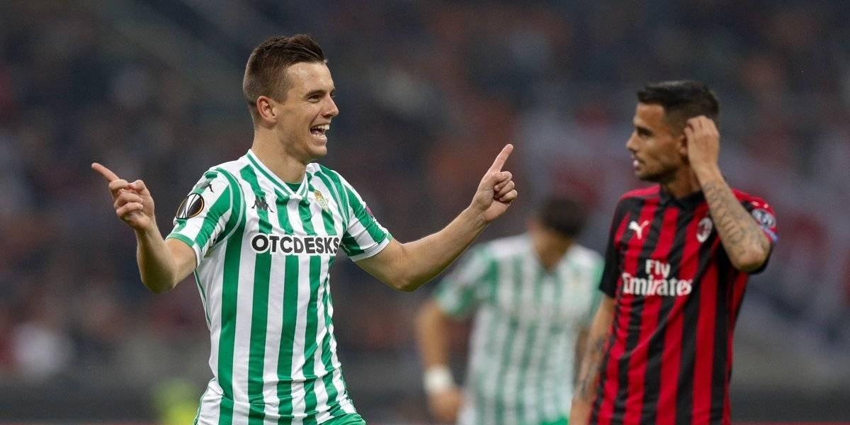 Betis consigue histórico triunfo sobre el Milan