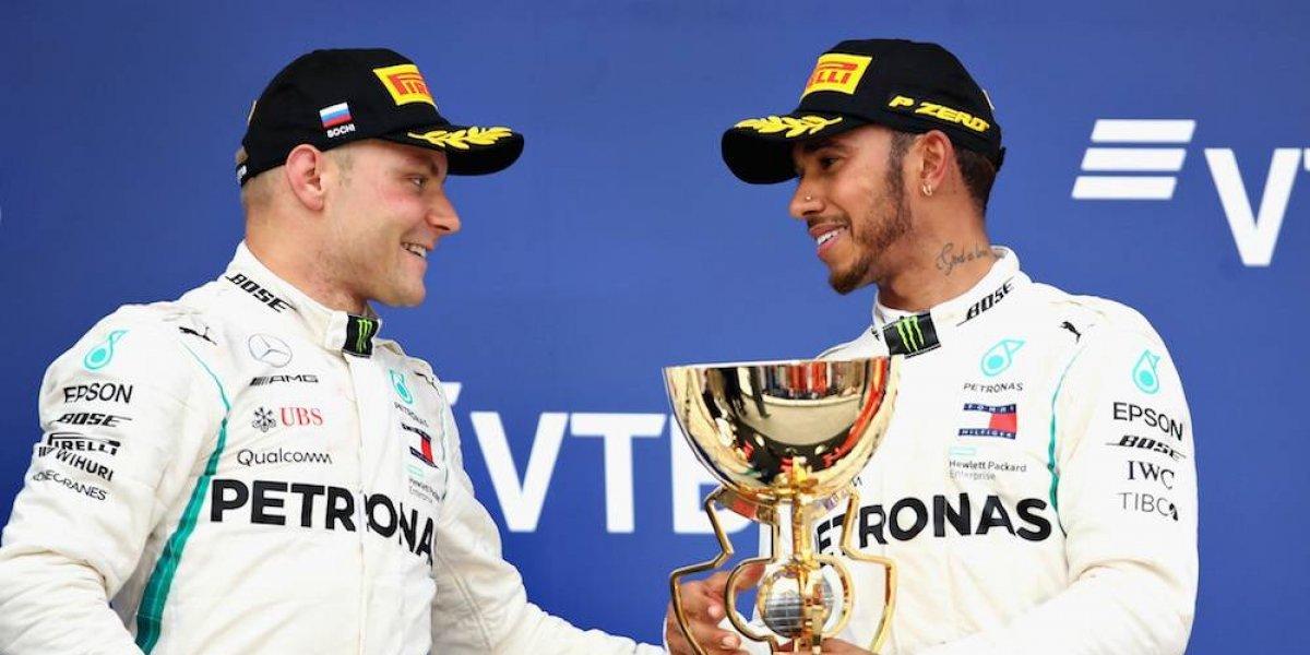 Valtteri Bottas acepta que ayudó a Hamilton a ganar carreras
