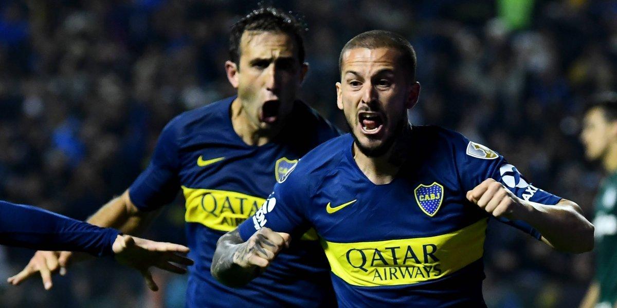 La Bombonera rugió con los dos goles de Benedetto que acercan a Boca a la final de la Libertadores