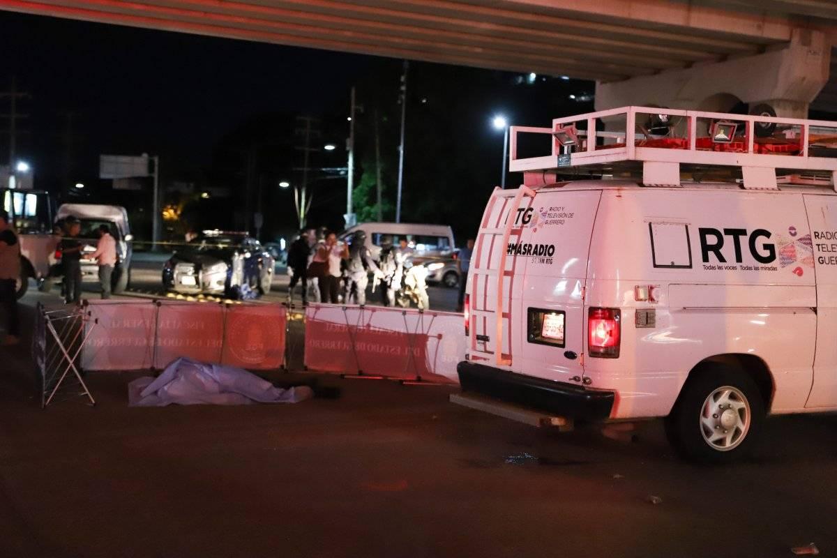 Se localizó una camioneta color blanca con impactos de arma Foto: Cuartoscuro