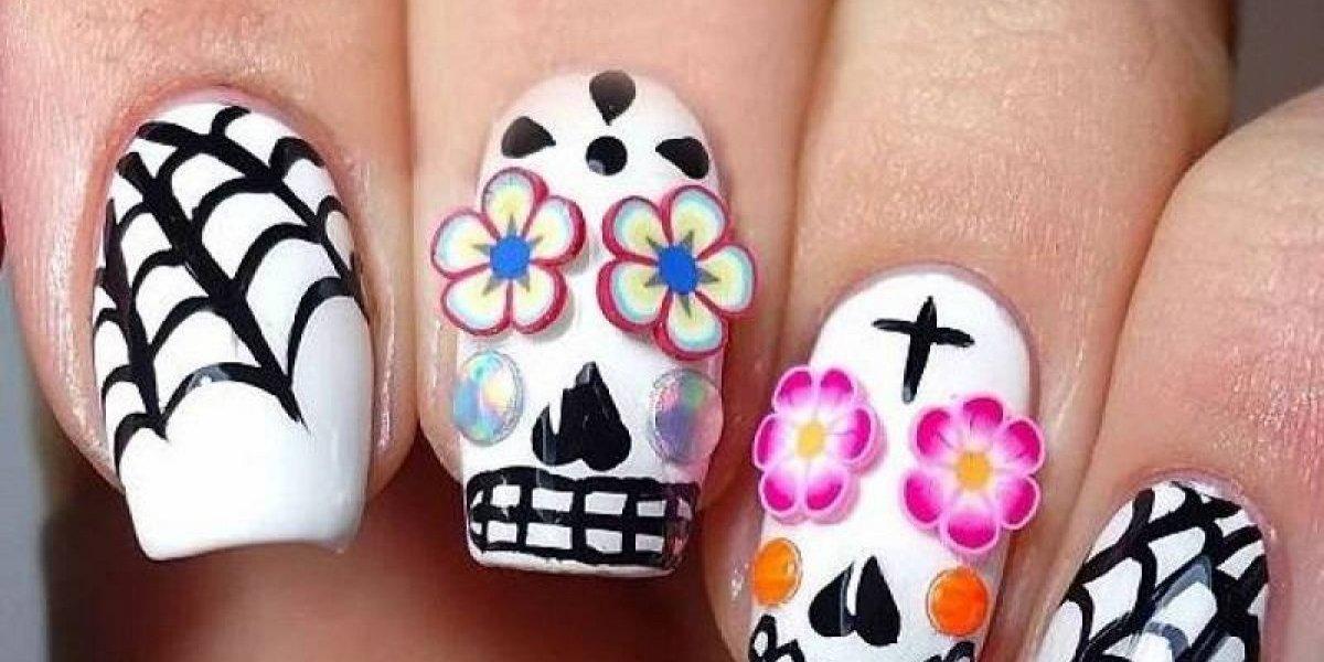 ¡Querrás probarlos todos! Los 12 mejores diseños para tus uñas en Halloween