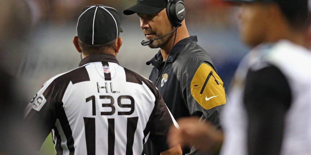 NFL despide por primera vez a un oficial por mal desempeño