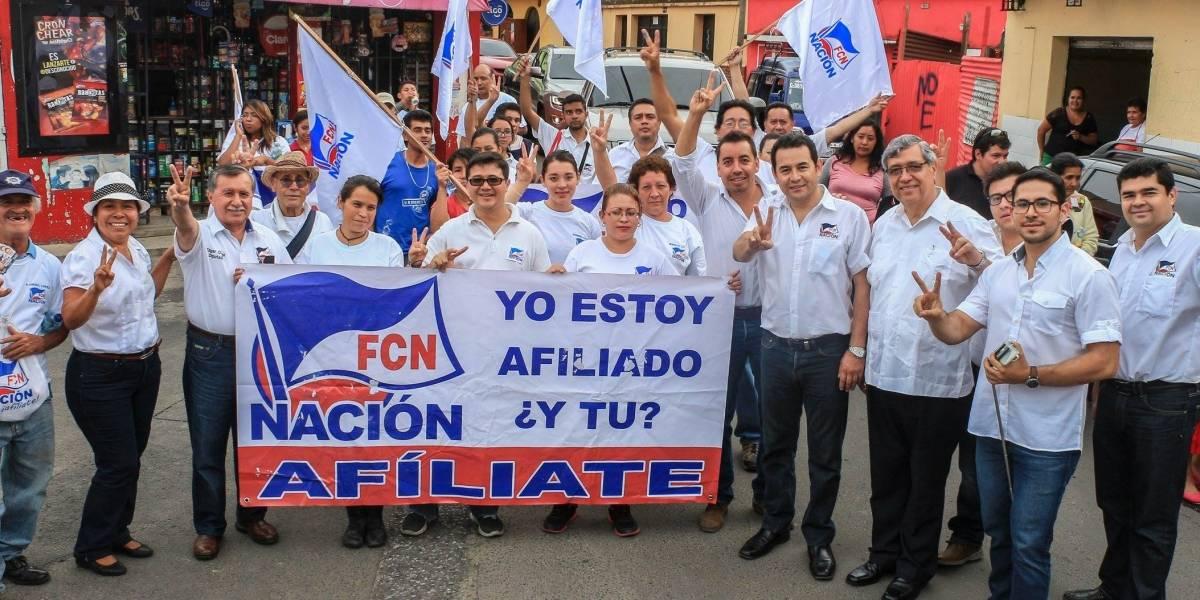 TSE cancela al partido FCN-Nación