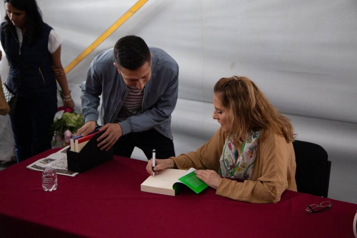 """Presentación de su libro """"Tepic Literario, Revista Mensual de Literatura"""" Foto: Cuartoscuro"""