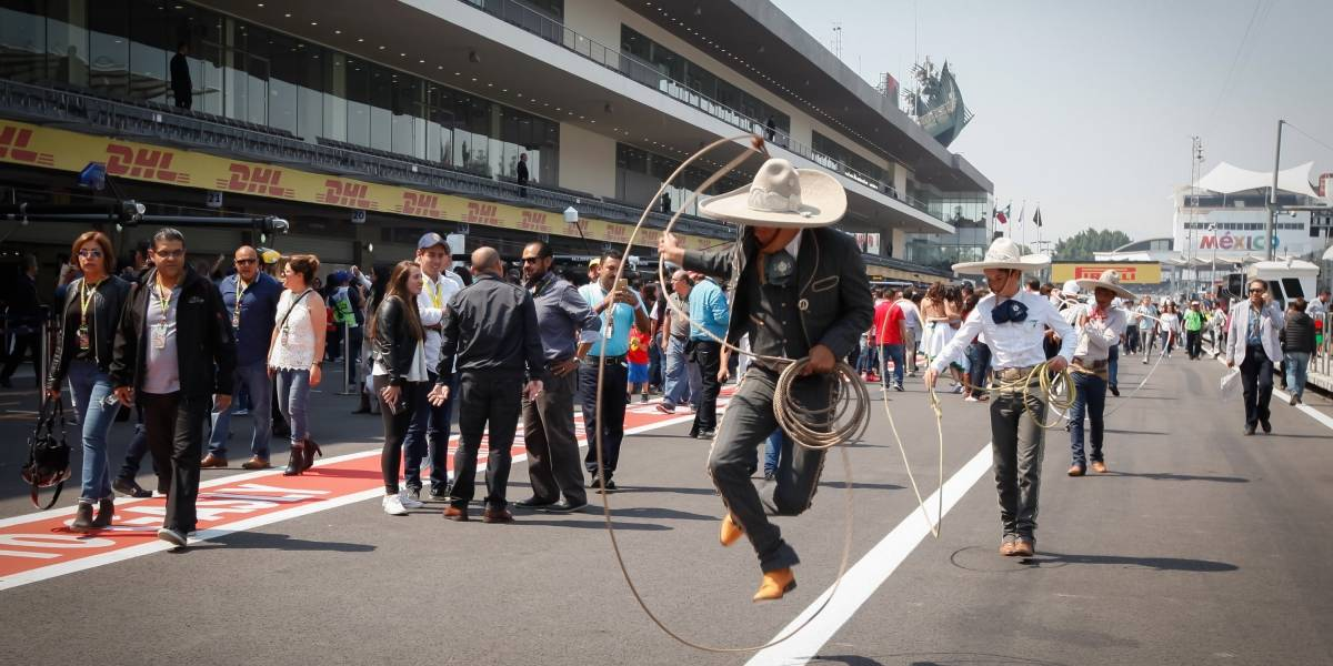 Majestuosa inauguración la que habrá para el Gran Premio de México