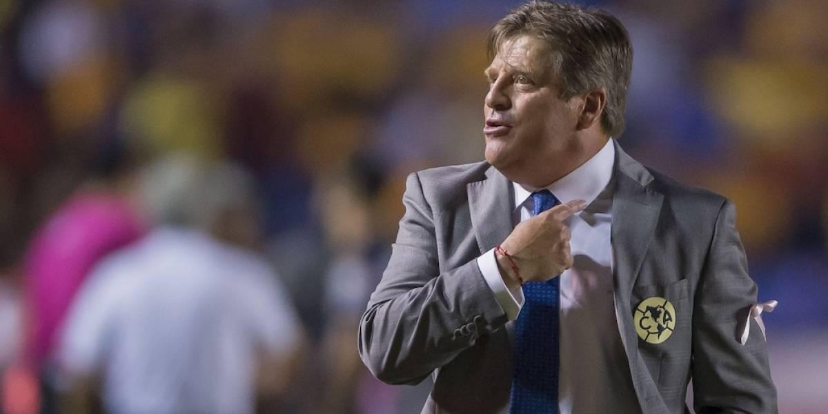 'Deseo restregarle a Cruz Azul que ganamos', afirmó Miguel Herrera