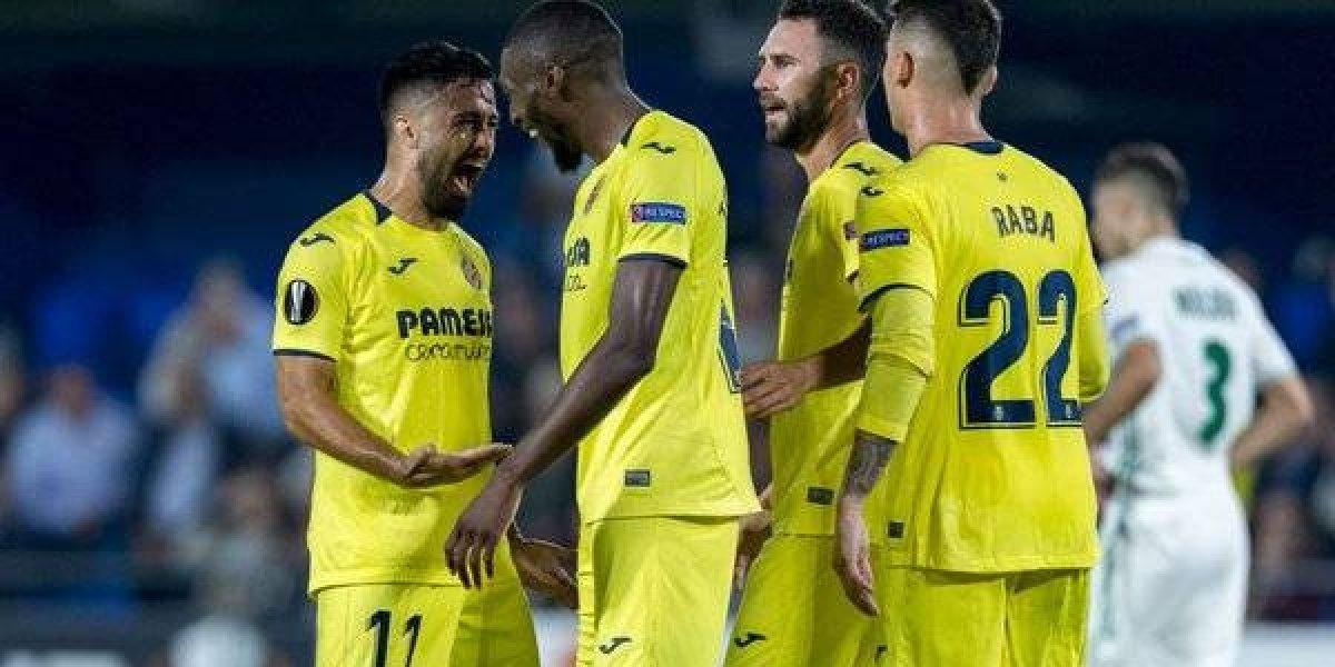 Miguel Layún fue titular en la goleada del Villarreal en la Europa League