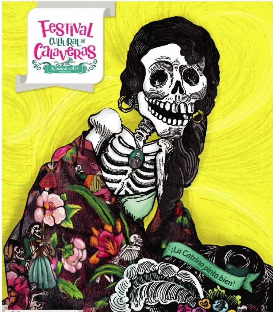 El Festival Cultural de las Calaveras se realiza en Aguascalientes Cortesía