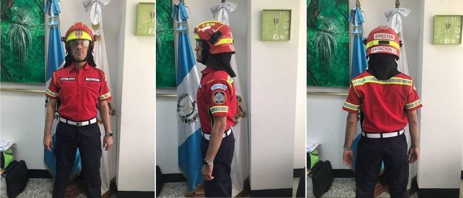 Nuevo uniforme de Bomberos Municipales
