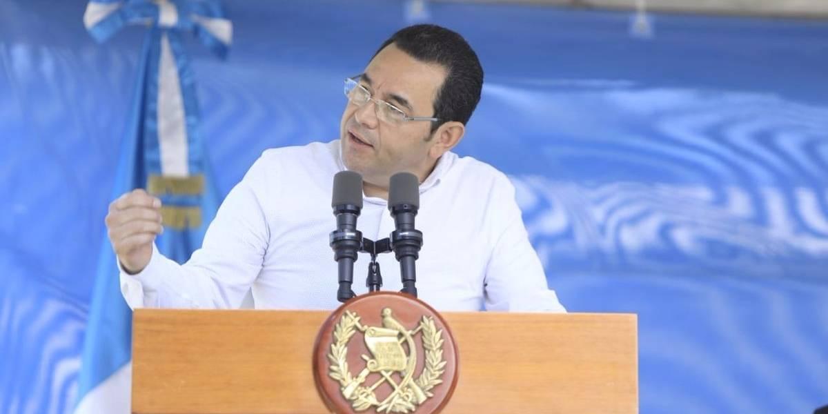 MP cierra caso contra el presidente Jimmy Morales por supuestas agresiones sexuales