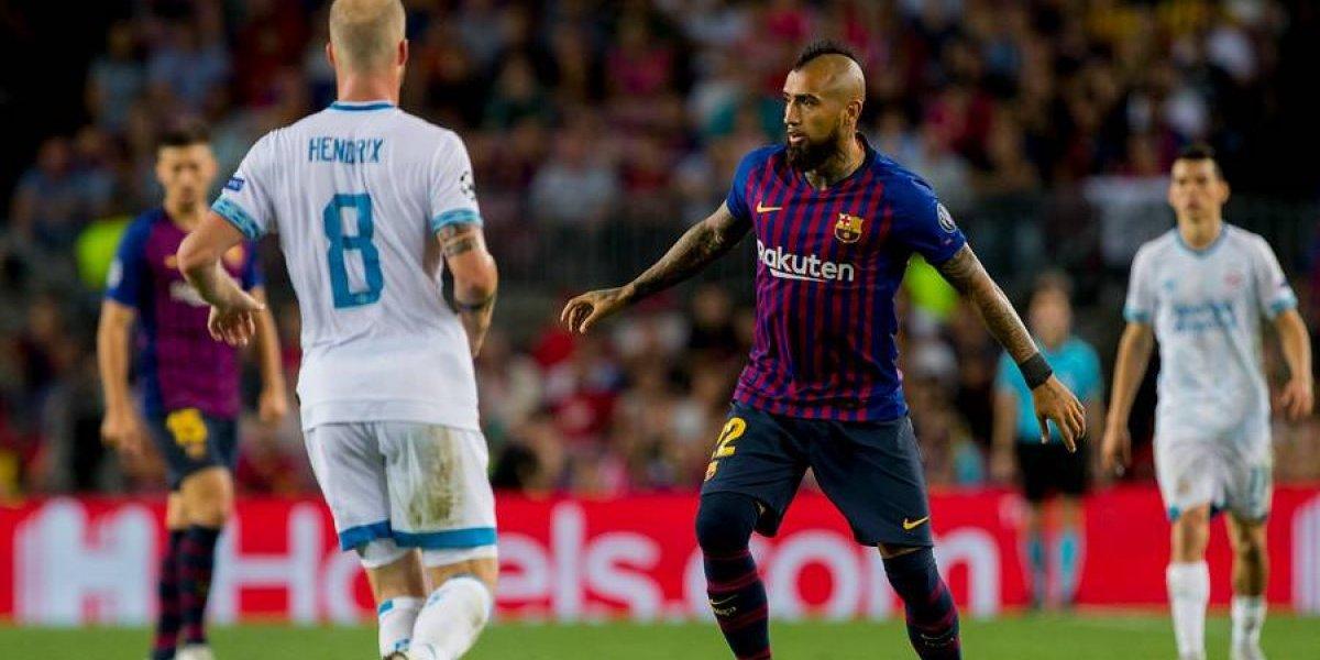 "Vidal vuelve a Barcelona para luchar por un puesto: ""Estoy al 100%, espero ser titular"""