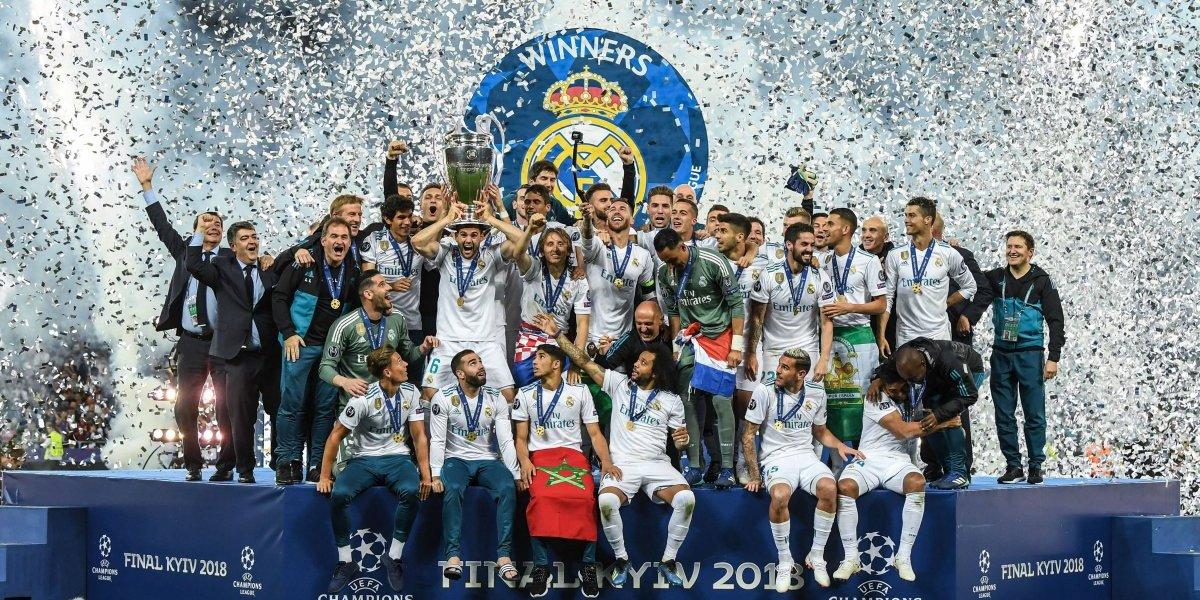 Revelan la cantidad de dinero que repartió la UEFA tras la Champions League 2017-18