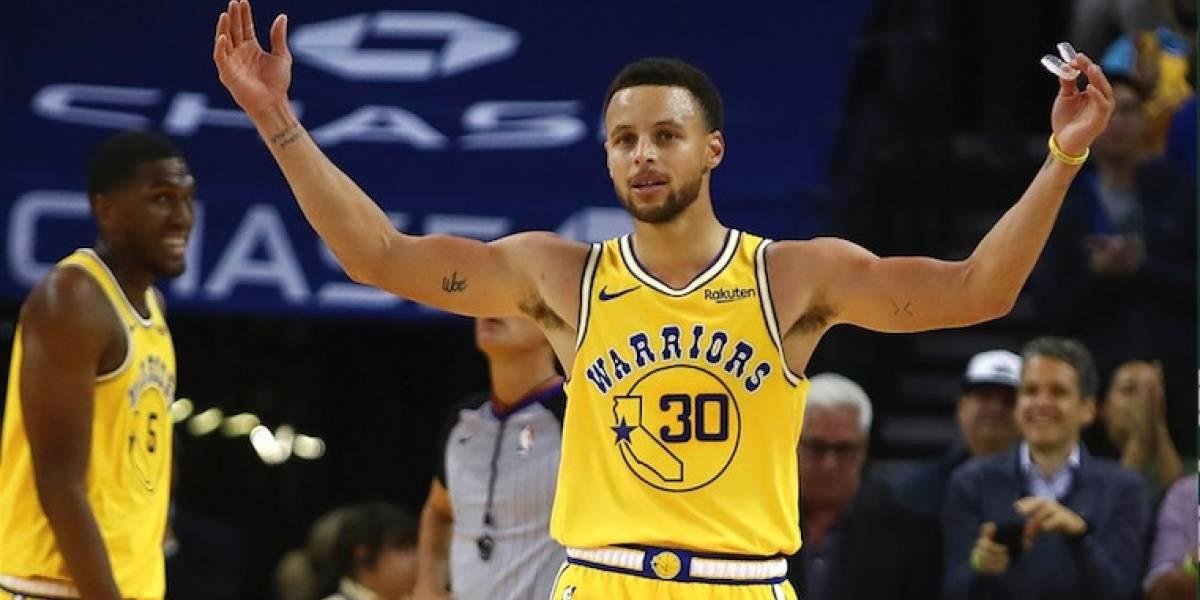 Imparable Curry con 51 puntos para llevar a los Warriors a la victoria