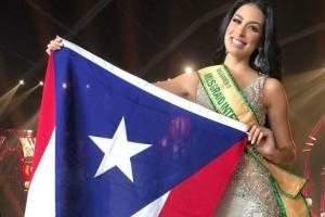 Miss Grand Puerto Rico 2018 quedó tercera finalista. pantallazo