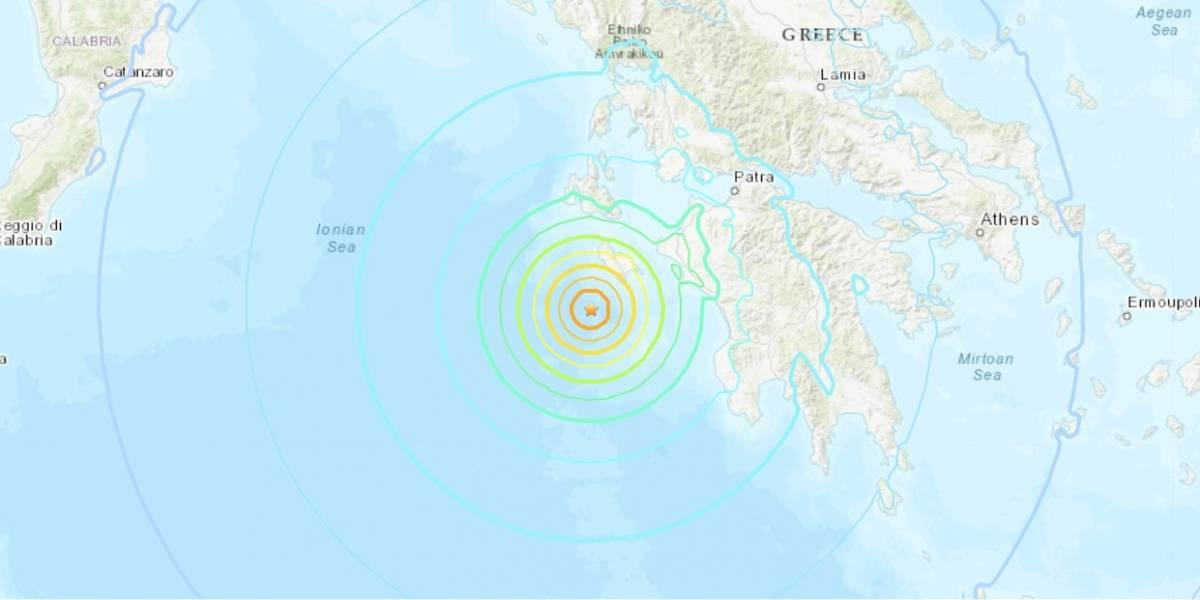 Se registra sismo de 6.8 en Grecia